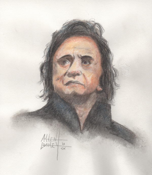 Johnny Cash by DodgeCityMarshal